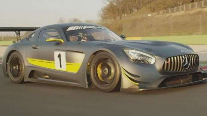 Video: Ginebra 2015: Mercedes-Benz AMG GT3