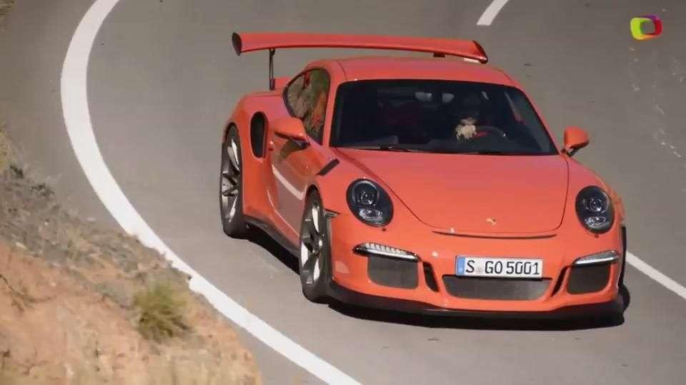 Video: Ginebra 2015: Porsche GT3 RS 2015