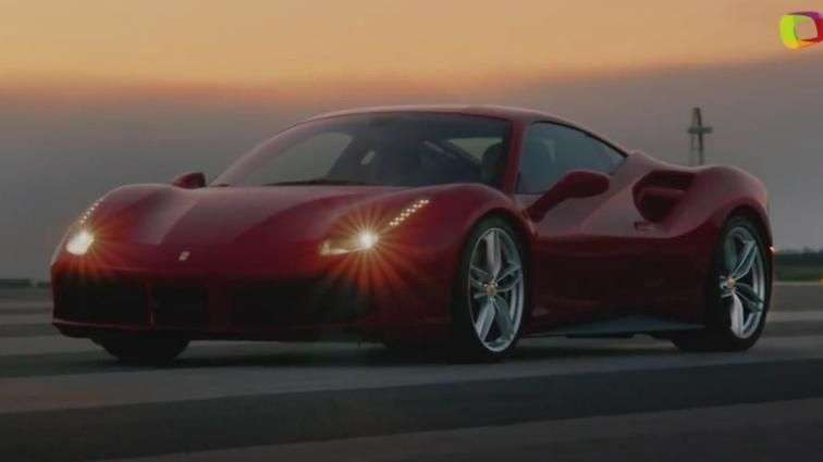 Video: Ginebra 2015: Ferrari 488 GTB