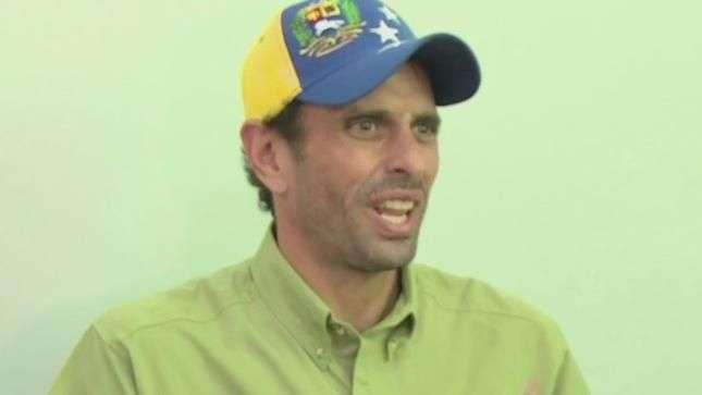 Capriles: El gobierno es capaz de cualquier cosa