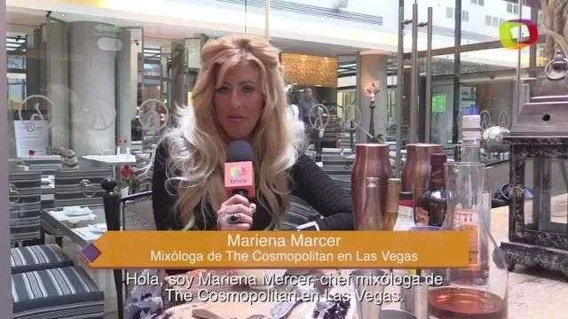 Mariena Mercer, la mixóloga más famosa de Las Vegas
