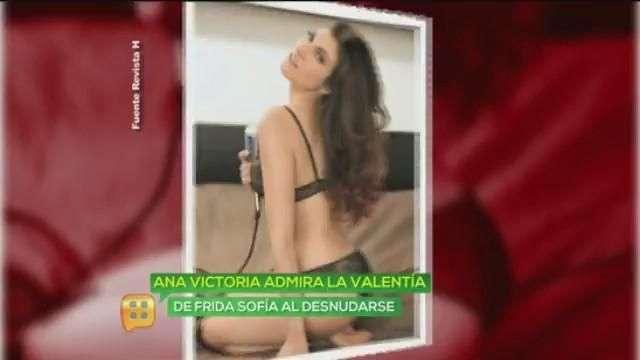 ¿Ana Victoria se queda desnuda?