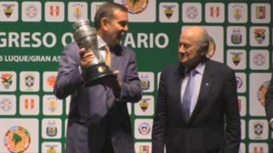 Juan Ángel Napout, nuevo presidente de la Conmebol