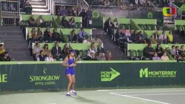 Ana Ivanovic sin problemas a cuartos de final en Monterrey