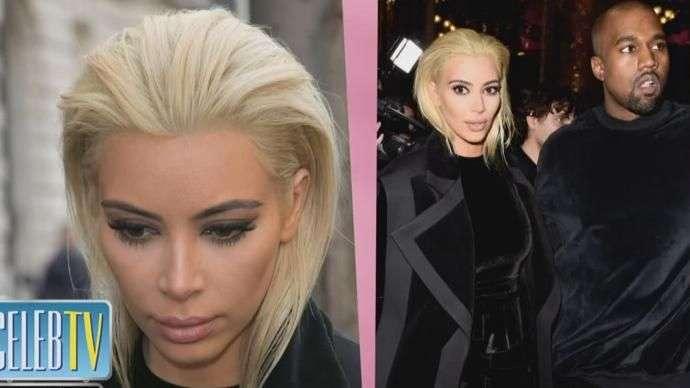 Kim Kardashian Goes Platinum!