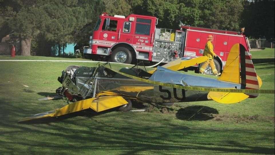 Harrison Ford con heridas leves tras avionazo