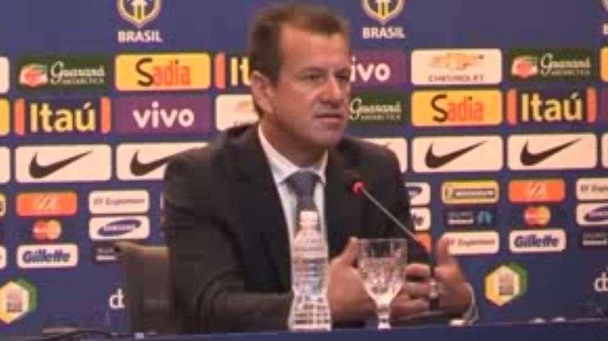 """Dunga pide a sus jugadores una """"mentalidad ganadora"""""""
