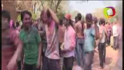 Holi, el explosivo festival de la primavera en India