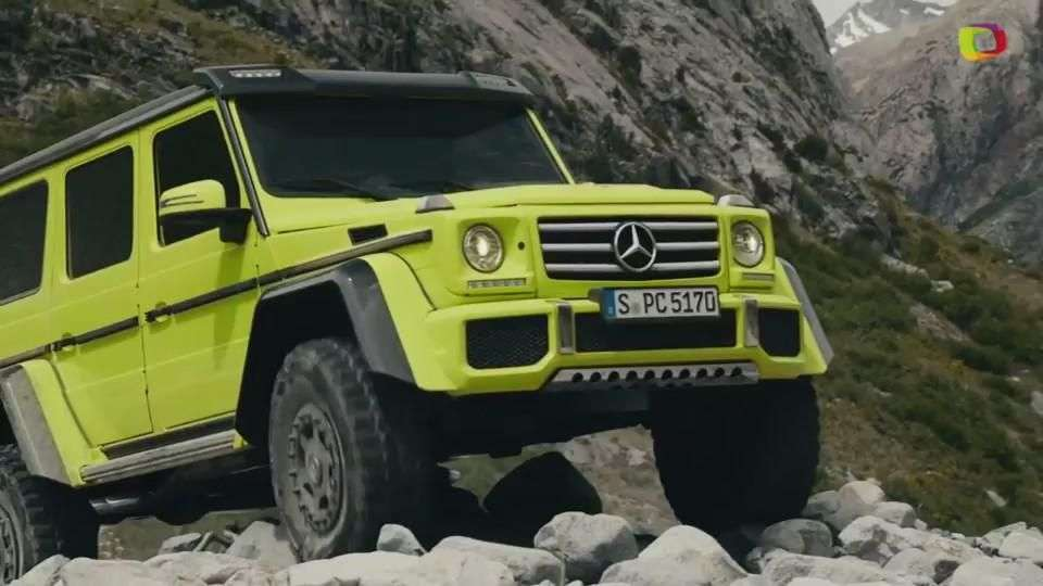 Video Ginebra 2015: Mercedes-Benz G 500 4x4²