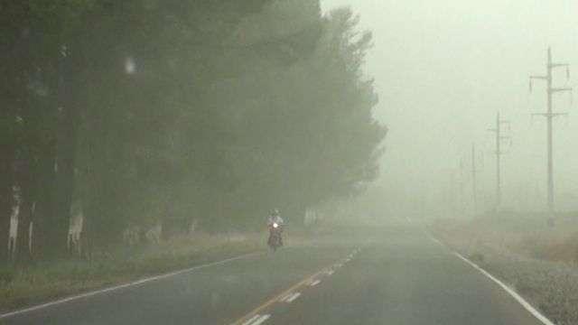 """El intenso """"viento zonda"""" nos sorprende en Mendoza"""