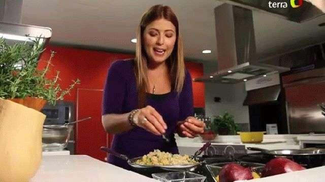 La cocina no muerde: Ensalada de quinoa con calabaza