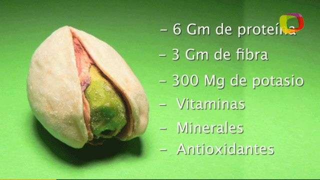 Conoce los maravillosos beneficios nutricionales de los pistachos
