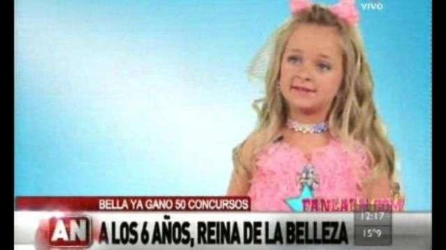 Polémica: A los 6 años es Reina de belleza y millonaria