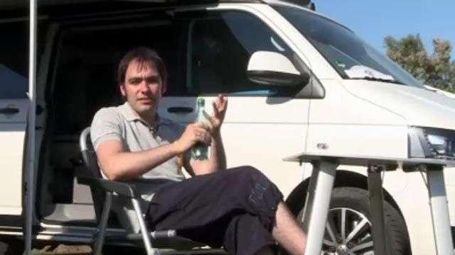 Así es un viaje en la autocaravana VW California