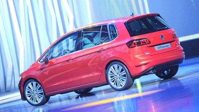Volkswagen Golf Sportsvan, desde el Salón de Frankfurt
