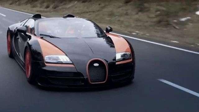 Video: Record de Velocidad Bugatti 2013