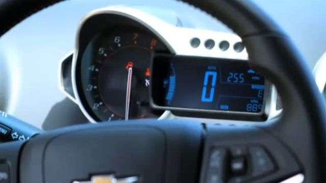 Video Chevrolet Sonic RS Interior: El auto compacto que te acompaña siempre
