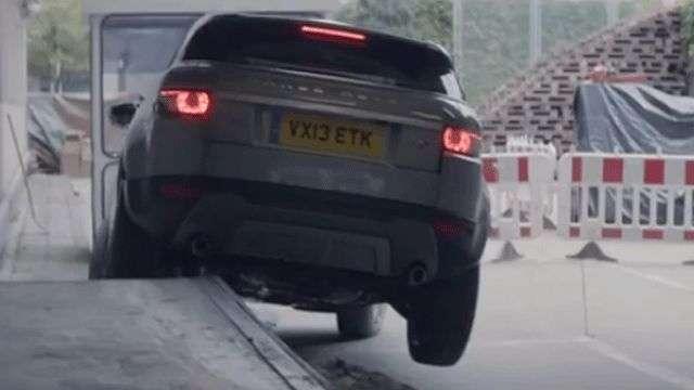 Video: Range Rover Evoque 2014, Atajo sorpresa