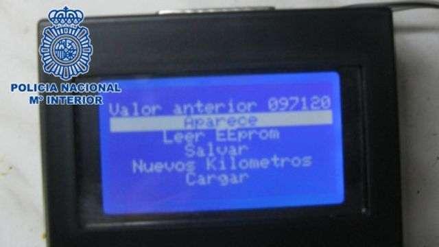 Más de 100 vehículos vendidos con el cuentakilómetros manipulado en Gran Canaria