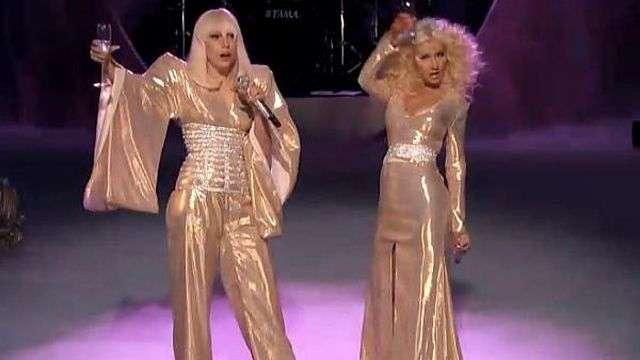 Lady Gaga y Christina Aguilera cantan en la final de 'The Voice'