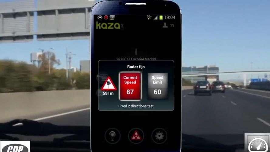 Kaza-Live, la app que te avisa del helicóptero Pegasus