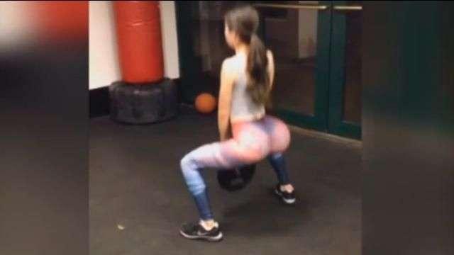 Entrenadora hot de traseros, el mejor derriere de Instagram
