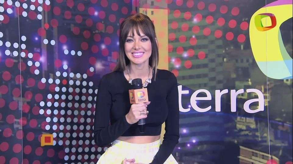 Patricia Zavala, presentadora del Coffee Break de E! Entertainment en 'Un minuto con