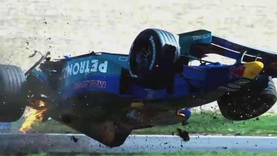 Accidentes que estremecieron la Fórmula 1