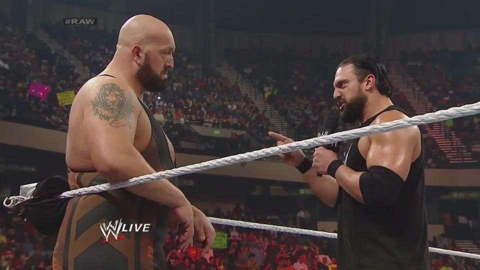 RAW: Big Show cierra la boca de Damien Sandow de un puñetazo