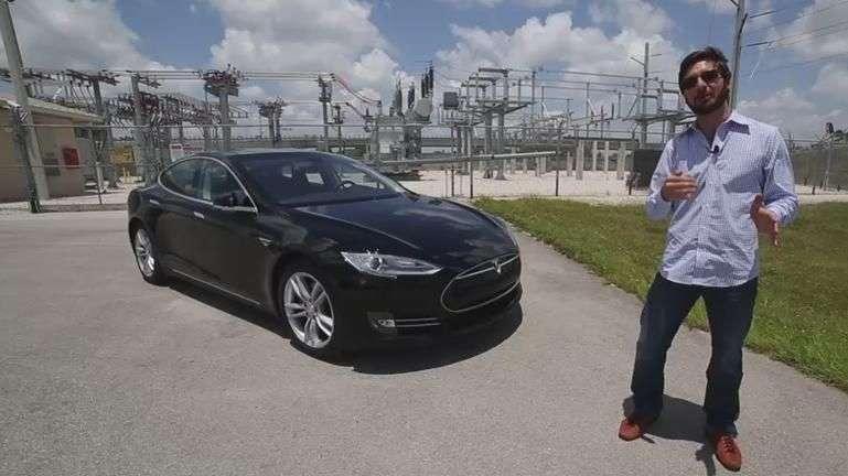 Video: Prueba Tesla Model S 2014