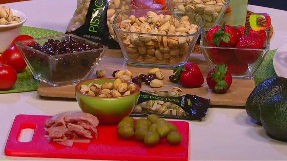 Deliciosos snacks con Pistachos para ver el Mundial