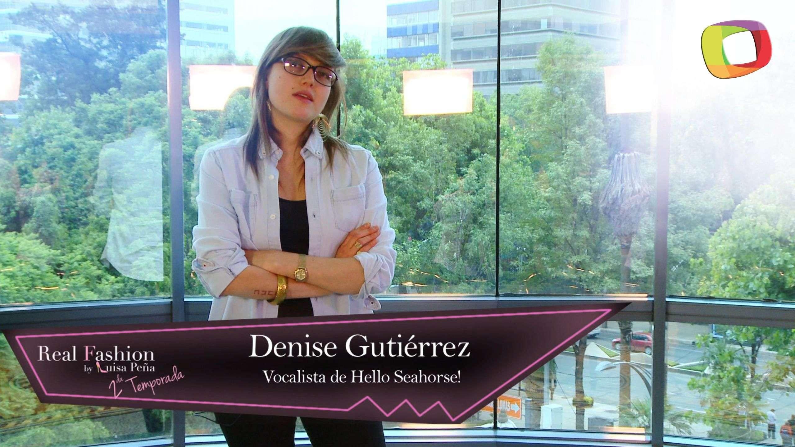 Conoce el estilo de la cantante Denise Gutiérrez en Real Fashion