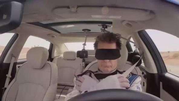 La conducción autónoma de Hyundai, mostrada de la forma más espectacular