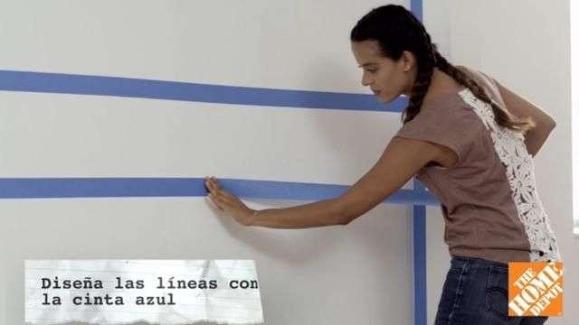 Cómo pintar en forma lineal