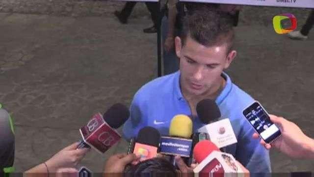 Lucas, jugador del Atlético, quedó impactado con el Azteca