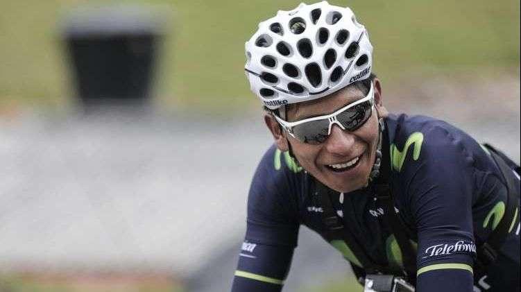 Nairo Quintana y su estilo para pedalear