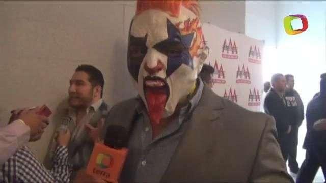 Psycho Clown, dispuesto a humillar al Texano Jr. en Triplemanía XXII