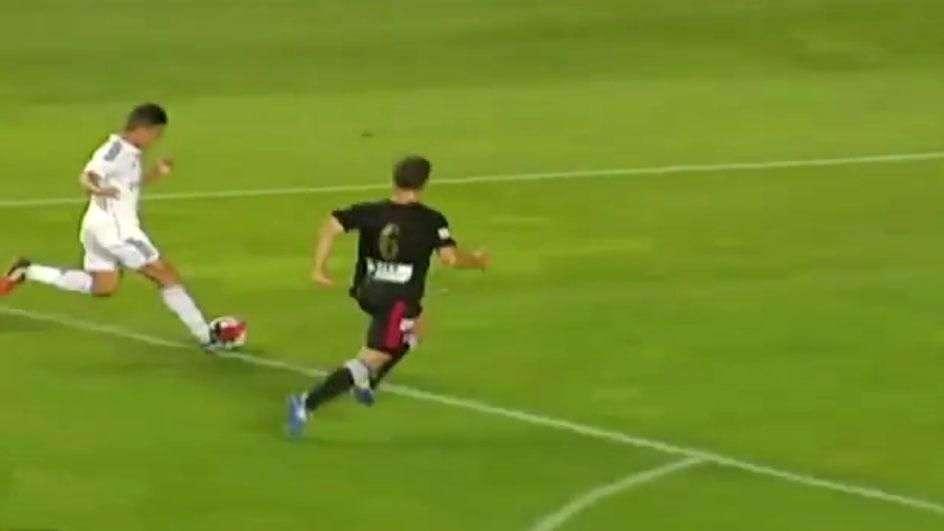 El gol de Cristian Benavente que elogió Zidane