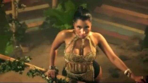 """Nicki Minaj seduce a Drake en sensual video de """"Anaconda"""""""