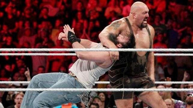 RAW: Rusev ataca a Big Show y Mark Henry en su combate contra los Wyatt