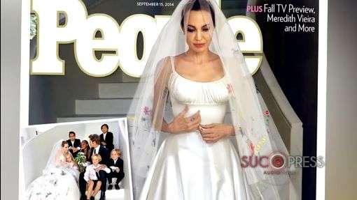 Primeras fotos de la boda secreta de Angelina Jolie y Brad Pitt