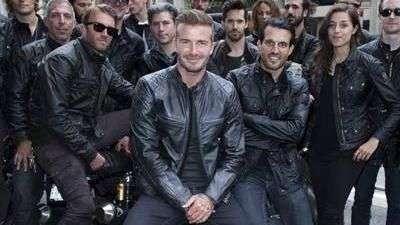 David Beckham Dabbles in Design With Belstaff