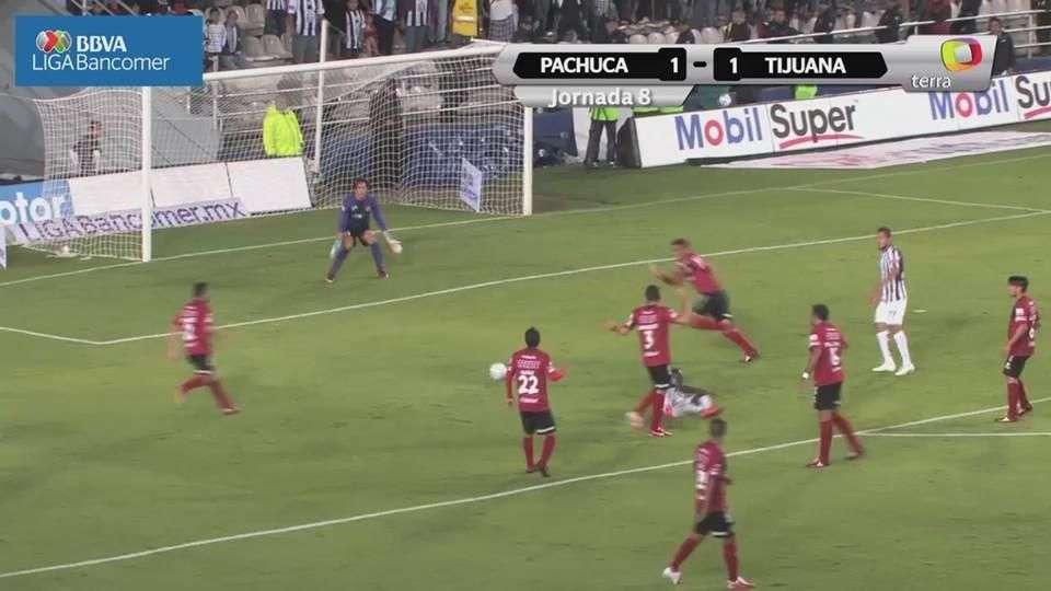 Jornada 8, Pachuca 1-1 Tijuana, Apertura 2014