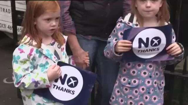 "Escocia dice ""no"" a la independencia"