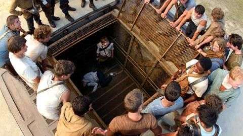 The Maze Runner': Kaya Scodelario, Dylan OBrien y Will Poulter, ¡Correr o Morir!