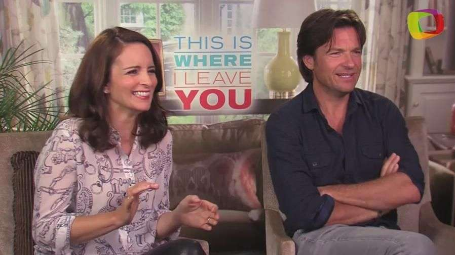 'This Is Where I Leave You':  Jason Bateman y Tina Fey fans de súper 'lolas' de Jane Fonda