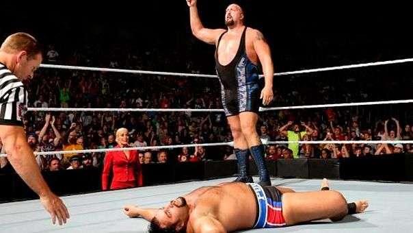 SmackDown: Big Show venga las derrotas de Mark Henry derrotando a Rusev