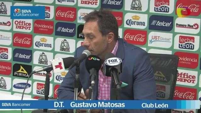 Jornada 11, Gustavo Matosas, León 1-3 Monterrey, Apertura 2014