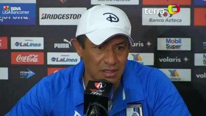Ignacio Ambriz achaca al cansancio nueva derrota del Querétaro ante Atlas