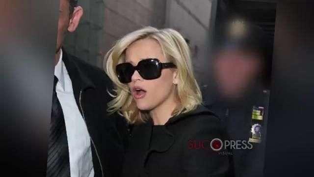 Reese Witherspoon habla por fin de su detención